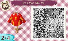 Iron man qr codes Iron Man Poster, Animal Crossing Qr Codes Clothes, Iron Man 3, Take Me Up, My Animal, Trending Memes, Funny Jokes, Animals, House Design