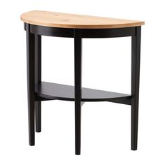 IKEA - ARKELSTORP, Console table, black, , Solid wood is a durable natural material.Separate shelf for magazines, etc. helps you keep your things organized and the table top clear.