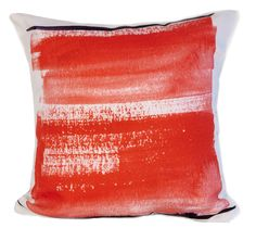 """Red Brush Throw Pillow designed by elise flashman  """"Double sided, printed cotton twill with concealed zipper.Sizes available:14"""""""" x 14"""""""" - $4614"""""""" x 20"""""""" - $5416"""""""" X 16"""""""" - $5318"""""""" X 18"""""""" - $6620"""""""" X 20"""""""" - $7026"""""""" X 26"""""""" - $100åÊShips in 2-3 weeks"""" The post  Red Brush Throw Pillow designed by elise flashman  appeared first on  Vintage & Curvy .  http://www.vintageandcurvy.com/product/red-brush-throw-pillow-designed-by-elise-flashman"""