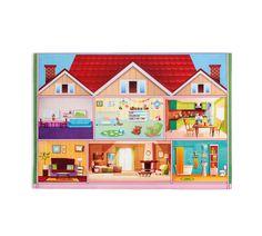"Covor pentru copii din PE "" Soft Play House"" Multicolour, 100 x 150 cm Lady Luster, Soft Play, Kidsroom, My Flower, Kids Rugs, Urban, Pink, House, Inspiration"
