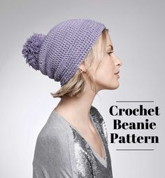 Make your own crochet ridge beanie with this How-to! | Crochet Hat | Crochet Patterns | Crochet Projects