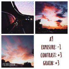 Instagram media by filter.queen_ -  dark filter  - •looks best with: sky pics! - #vsco #vscocam #vscocamfilter