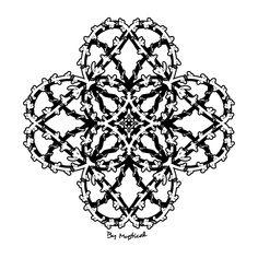 #mandala #zentangle #arttherapie #coloriagedulte #coloriagezen #coloriage Zentangle, Mandala, Creations, Art Therapy, Drawing Drawing, Zen Tangles, Zentangles, Mandalas