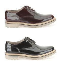 Hochwertige Herrenschuhe aus Leder, erhältlich in schwarz und kastanienbraun, Clarks Monmart Walk, 110,00 Euro: http://www.clarks.de/p/26103065