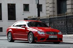 Mercedes CLK 63 AMG Black Series | by gthmm