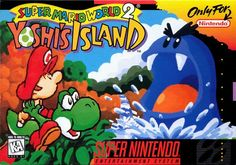 Yoshi Island - Super Mario World 2 - Super Nintendo Super Mario Bros, Super Mario World 2, Mundo Super Mario, Play Super Mario, Playstation, Xbox, Game Boy, Yoshi Island, Consoles