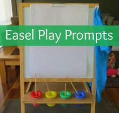List of Easel Play Activities | learning 4 kids