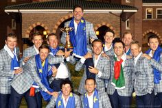Ryder Cup - Day Three Singles Famous Golfers, Great Comebacks, Winners And Losers, Ryder Cup, Jack Nicklaus, Rugby League, Great Team, Team Usa, History Books