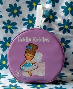 1967 LIDDLE KIDDLES Vintage Round Lilac Purple by CelwinsCloset