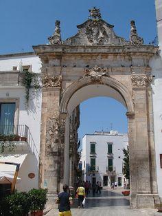 Ancient CIty Gate - Taranto, Apulia, Italy