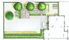 Easy Diy Garden Projects You'll Love Landscape Plans, Landscape Design, Landscape Architecture, Small Gardens, Outdoor Gardens, Garden Design Plans, Green Books, Garden Show, Diy Garden Projects