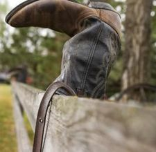 Decorating with Cowboy boots - Love it!!