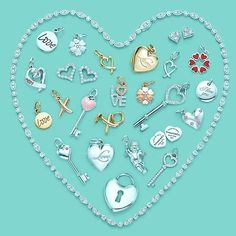 "peppilyprep: "" I love Tiffany & Co. "" preppyprincess: "" ""Heartfelt from Tiffany"" "" SO many great things about this photo "" "" I miss getting new charms for my bracelet. I Love Heart, Key To My Heart, My Love, Heart Charm, Tiffany & Co., Tiffany Atlas, Tiffany Girls, My Favorite Color, My Favorite Things"
