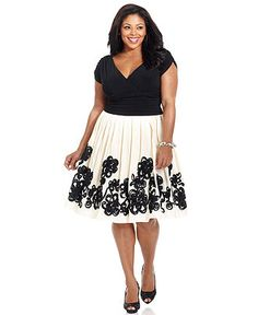 Short-Sleeve Ruched A-Line Dress (a little longer sleeve would be nice!)