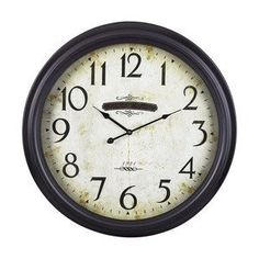 Sterling Home Wood with Iron Frame Chateau Clock *** Visit the image link more details.