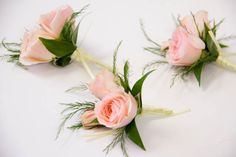 White, Peach, and Emerald Green Wedding - I really like these colors together; sweet, soft, and lovely.