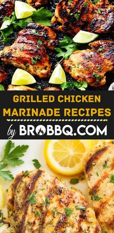 Grilled Chicken Marinade Recipes Grilled Chicken Burgers, Best Grilled Chicken Recipe, Grilled Meat, Chicken Kabobs, Chicken Wings, Chicken Marinade Recipes, Chicken Marinades, Barbecue Recipes, Grilling Recipes