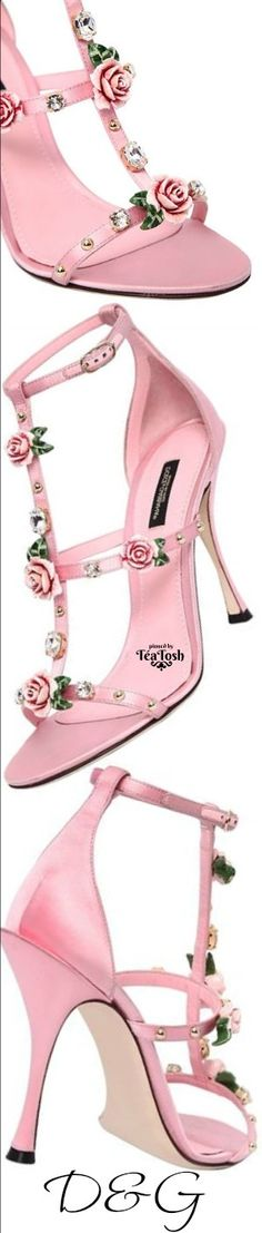 Pink - Shoe Perfection - Love And Want These Shoes - ❇Téa Tosh❇ D&G