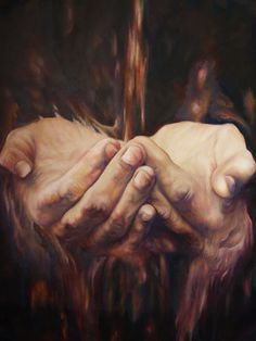paintings of hands - Google Search