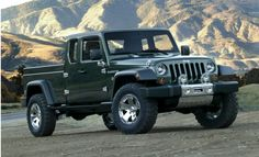 Jeep is Seriously Contemplating the Rebirth of the Jeep Wrangler Truck Concept