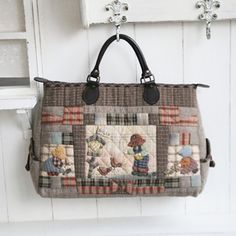 Japanese Bag, Japanese Quilts, Patchwork Bags, Quilted Bag, Key Covers, Handmade Bags, Bag Making, Clutch Bag, Purses And Bags