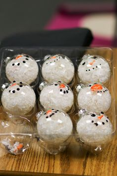 Teach Them To Fly II: Snowmen Ornaments gift for Parents made my students. Great fine motor activity