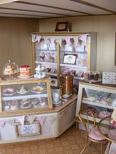 teashop1 by Cherry Berry Miniatures, via Flickr