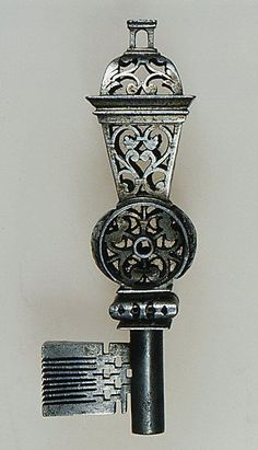 Metallic Sculpture : French Masterpiece key  second half 17th Century