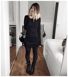 Robe et boots : • Dress #iroparis (from @labrandboutique) • Bag #celiaetLouise (from @celiaetlouise) • Boots #fiorentinibaker (from @basaltshoes) ...