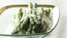 Asparagus with Creamy Lemon Sauce