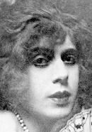 Lili Elbe (aka Einar Wegener), portrayed by Eddie Redmayne in The Danish Girl. See more pics at 'The Danish Girl: History vs. Hollywood' - http://www.historyvshollywood.com/reelfaces/danish-girl/