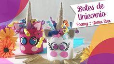 Botes de Unicornios con Goma Eva Foamy :: Chuladas Creativas
