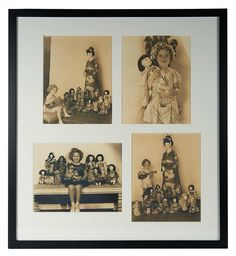 Love, Shirley Temple, Collector's Book: 317.2 Four Vintage Photographs of Shirley Temple with Her Japanese Doll Collection