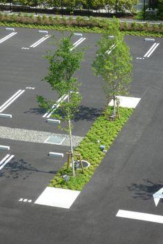 Daiichi Mutual Insurance Shin-Ohi Office Landscape | Kanagawa, Japan | Takenaka…
