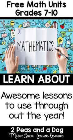 It can be difficult to find good material to supplement middle and secondary school curriculum. These resources were created to support an interactive math program.