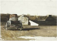 Andrew Wyeth watercolor | Art | Pinterest