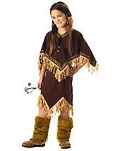 California Costumes Toys Princess Wildflower, Small dress with fring trim Poncho with fringe trim Plush boot covers Hair Indian Girl Costumes, Indian Princess Costume, Princess Costumes, Costumes For Women, Sacajawea Costume, Modest Halloween Costumes, Pocahontas Halloween, Halloween Ideas, Cowboy Costumes