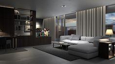 Proyecto: Suite Hotel Diseño: Ramón Bandrés