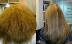 Incredibile trasformazione    #capelli ricci #capelli crespi