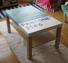 Pantone table