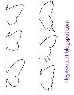 Te contamos de forma sencilla cómo puedes llenar de mariposas tus paredes. Sólo necesitas un poco de cartulina.