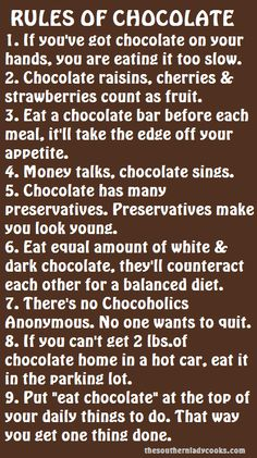 Chocolate covered strawberries count as fruit. Make sure to eat servings of fruit a day. I just don't agree with White chocolate is not real chocolate! Chocolate Raisins, Death By Chocolate, I Love Chocolate, Chocolate Heaven, How To Make Chocolate, Chocolate Lovers, Chocolate Funny, Chocolate Basket, Craving Chocolate
