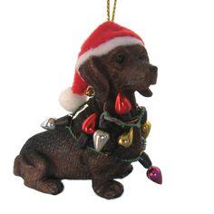 Dachshund Dog Ornament