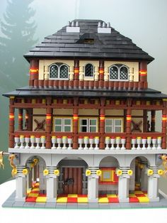 Rich man's house: A LEGO® creation by Subic Vedran : MOCpages.com