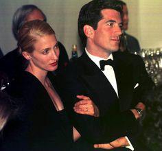 JFK Jr. and Carolyn Bessette Kennedy