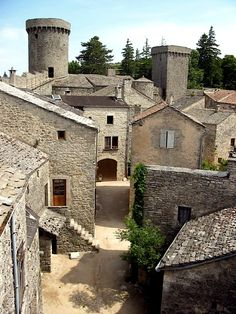 La Couvertoirade - Village of the Knights Templar    by © Yeoman