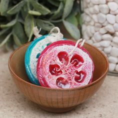 DIY Loofah Soap Bars #DIY #soap #hacks #clean