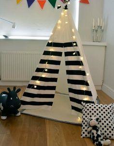 Kid Friendly Decorating Ideas   ... Friendly Teepee Designs Adding Coziness to Kids Room Decorating Ideas