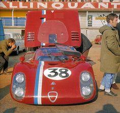 Alfa Romeo T33.2 #38 VDS Racing Team. Trosch-Pilette-Slotemaker-Gosselin LeMans '68