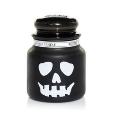 Yankee Candles   Yankee Candle   Witches Brew Skull Medium Jar
